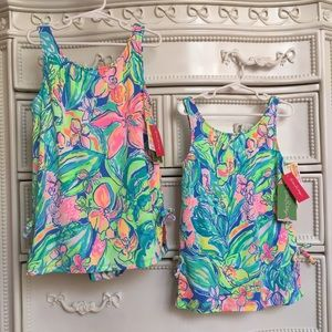 Nwt Lilly Pulitzer Surf Gypsea swimsuit girls 10